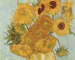 Los girasoles de Vincent van Gogh