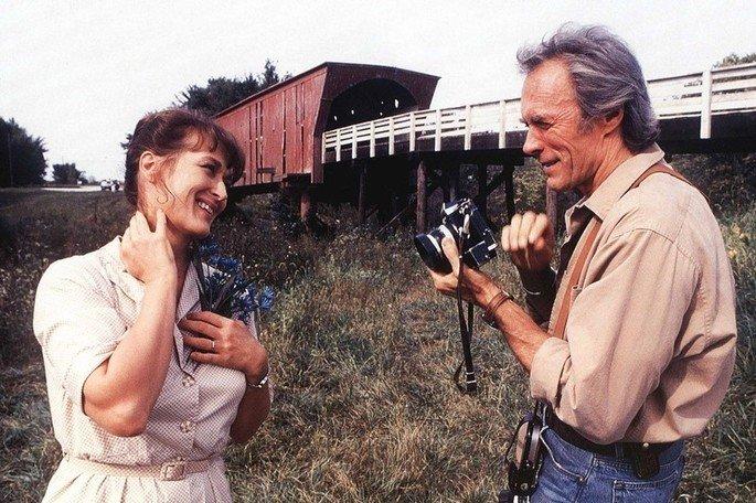Fotograma de la película Los puentes de Madison