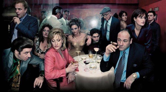 Fotograma de la serie Los Soprano