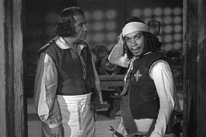 Fotograma de la película Los tres mosqueteros