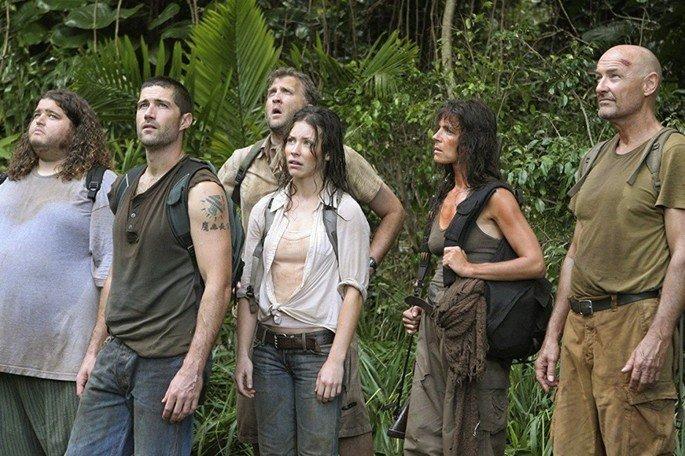 Fotograma de la serie Lost