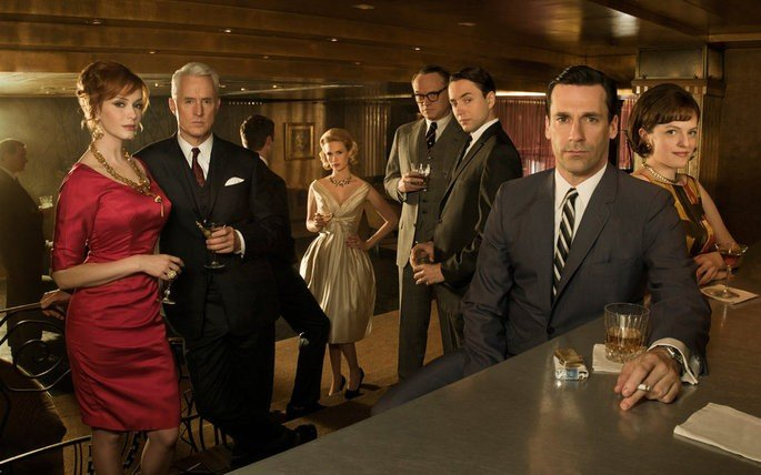 Fotograma de la serie Mad Men