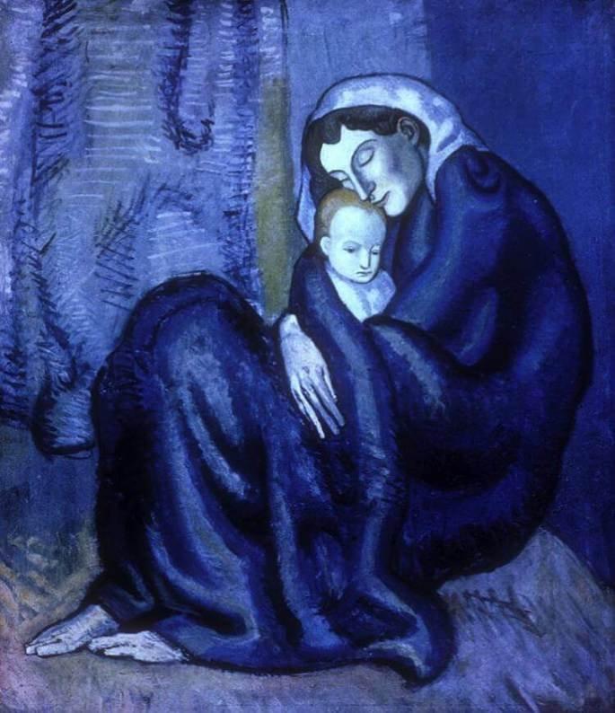 Madre e Hijo de Pablo Picasso