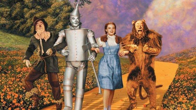 Fotograma de la película Mago de Oz