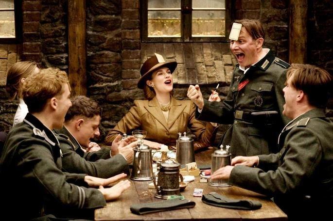 Escena de la película Inglorious Basterd