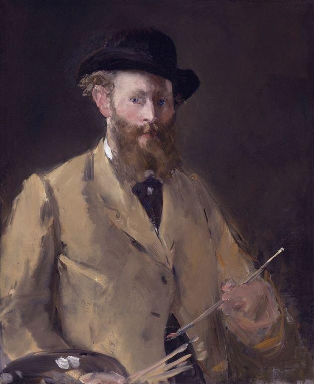 Manet. Autorretrato. 1879.