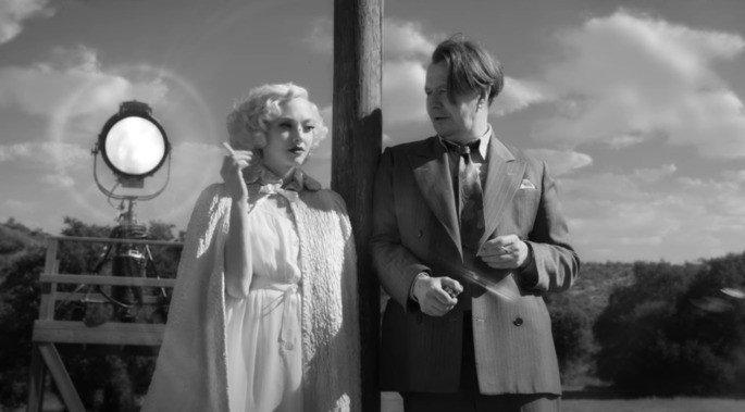 Fotograma de la película Mank