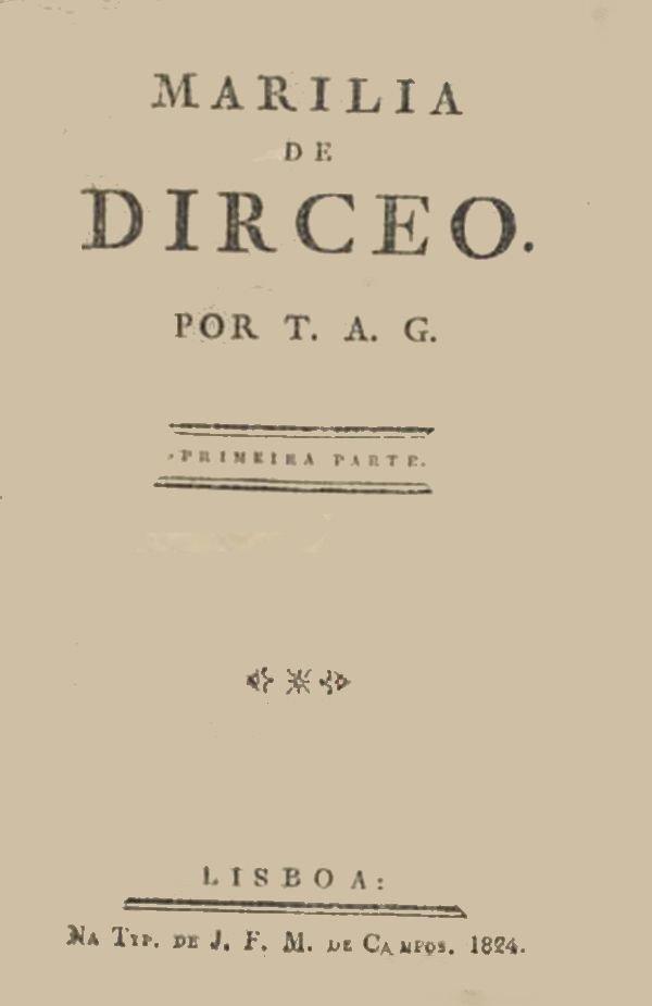 Gonzaba libro Marilia de Dirceo
