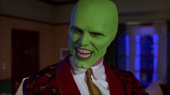 Fotograma de la película La máscara