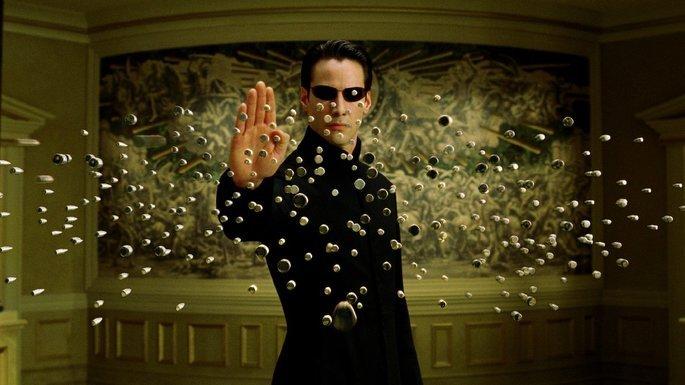 Fotograma de la película Matrix