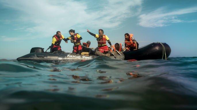 Fotograma de la película Mediterráneo