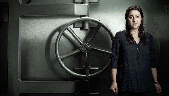 Mercedes en La casa de papel.