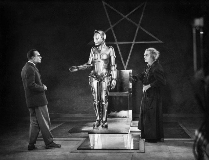 Fotograma de la película Metrópolis