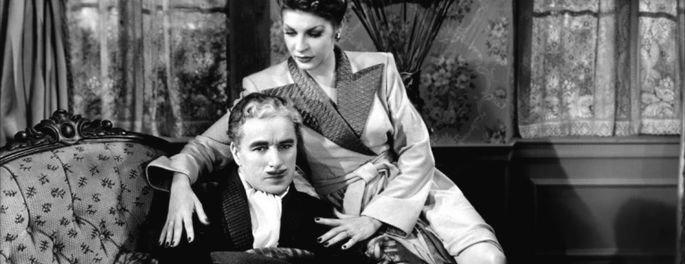 Monsieur Verdoux fotograma de la película.