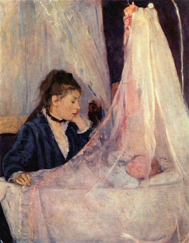 La cuna. 1872