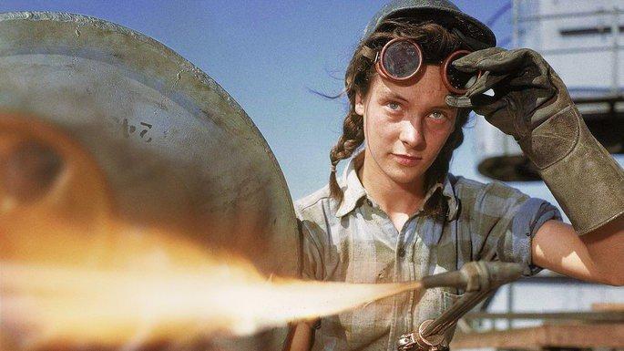 Fotograma del documental Mujeres en la Guerra