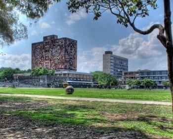 Murales de la Biblioteca Central de la UNAM