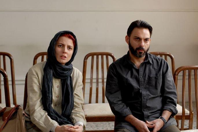 Fotograma de la película Nader y Simin, una separación.