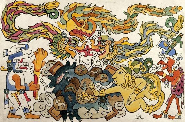 Ilustración nahuatl