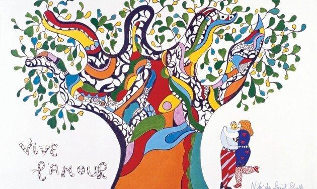 Niki de Saint Phalle Vive-lamour