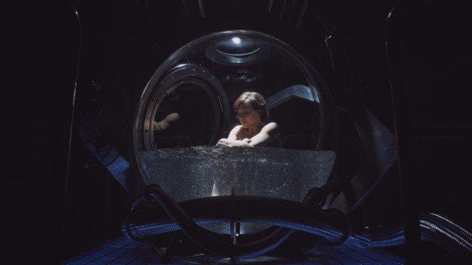 Imagen de Nora en la capsula