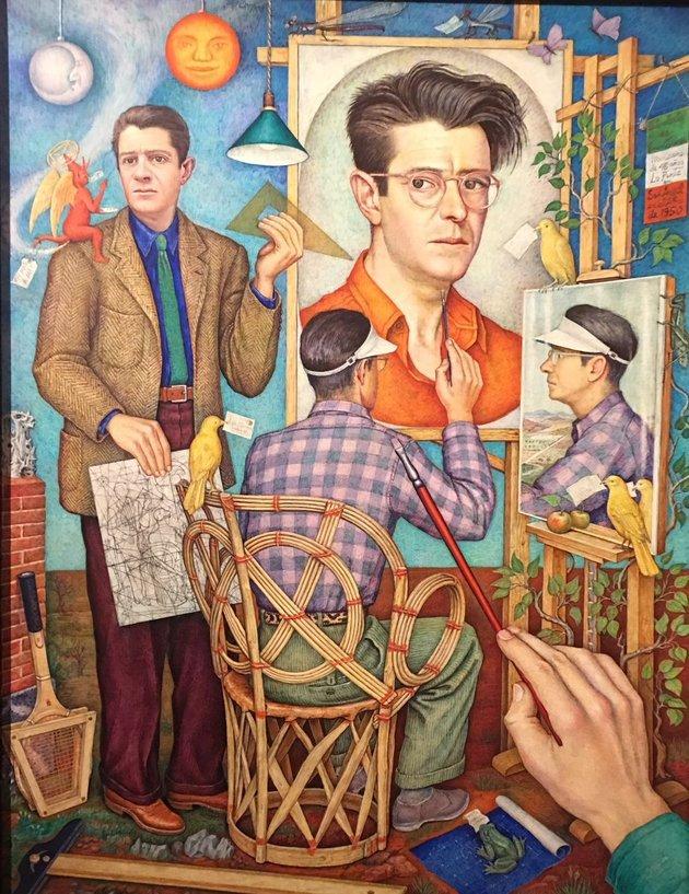 O' Gorman autorretrato