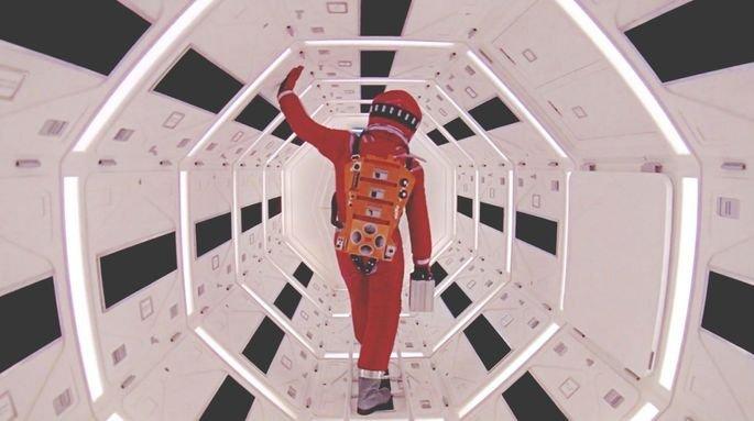 Fotograma de la película Odisea del espacio