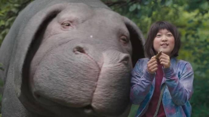 Fotograma de la película Okja.