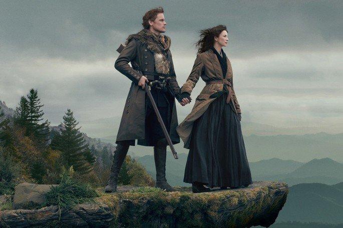 Fotograma de la serie Outlander