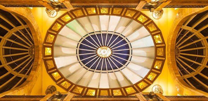 techo del palacio