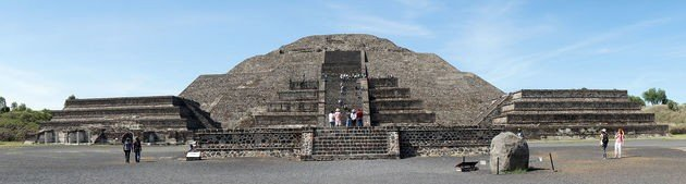 piràmide de la luna