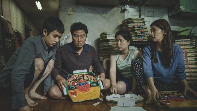 Fotograma de la película Parasitos