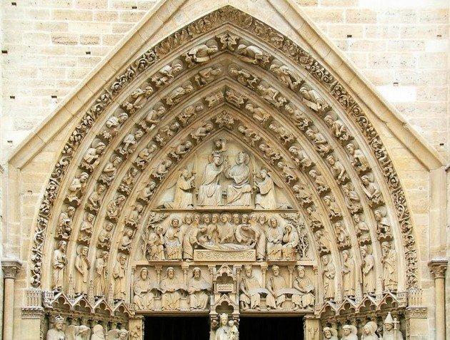 Puerta de la Virgen Notre Dame