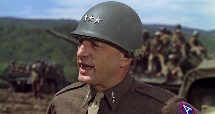Fotograma de la película Patton