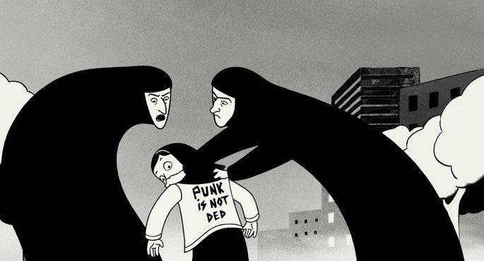 Fotograma de la película Persépolis