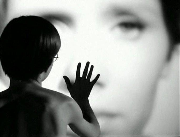 Fotograma de la película Persona.