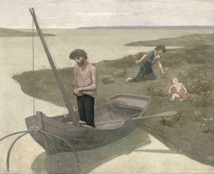Pobre pescador de Chavannes