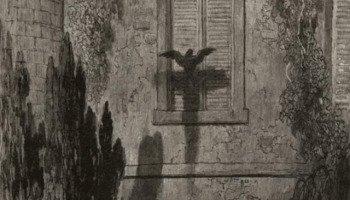 Poema El cuervo de Edgar Allan Poe