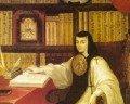 Poema Hombres necios que acusáis de sor Juana Inés de la Cruz