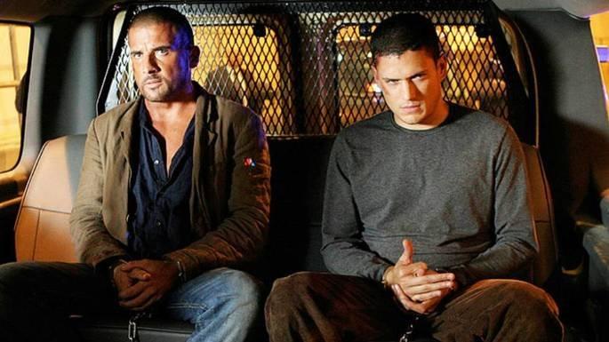 Fotograma de la serie Prison Break