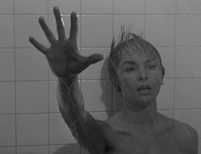 Fotograma de la película Psicosis