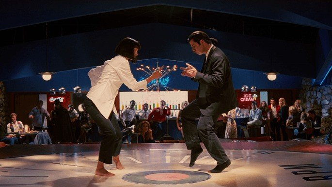 Fotograma de la película Pulp Fiction