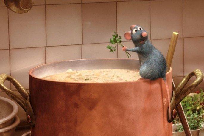 Fotograma de la película Ratatuille