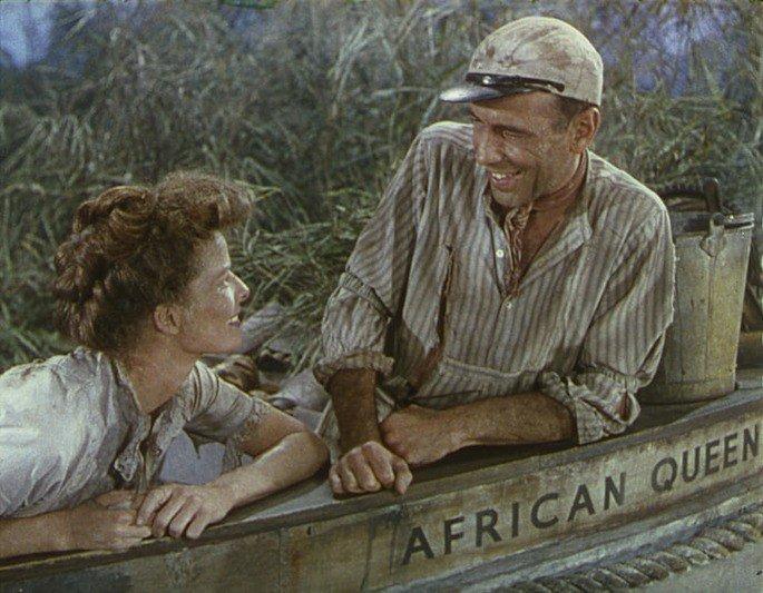 Fotograma de la película La reina de África