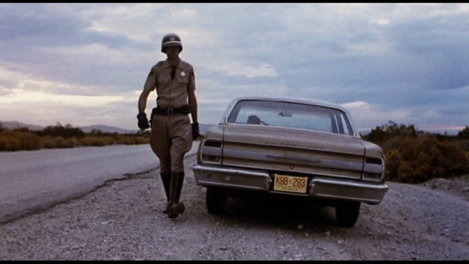 Fotograma de la película Repo man