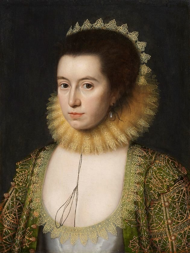 Retrato de Anne Hathaway mulher de Shakespeare