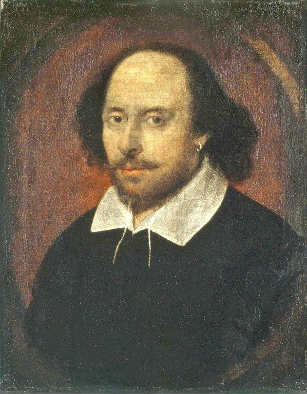 Retrato Chandos (retrato de William Shakespeare), atribuido al pintor John Taylor