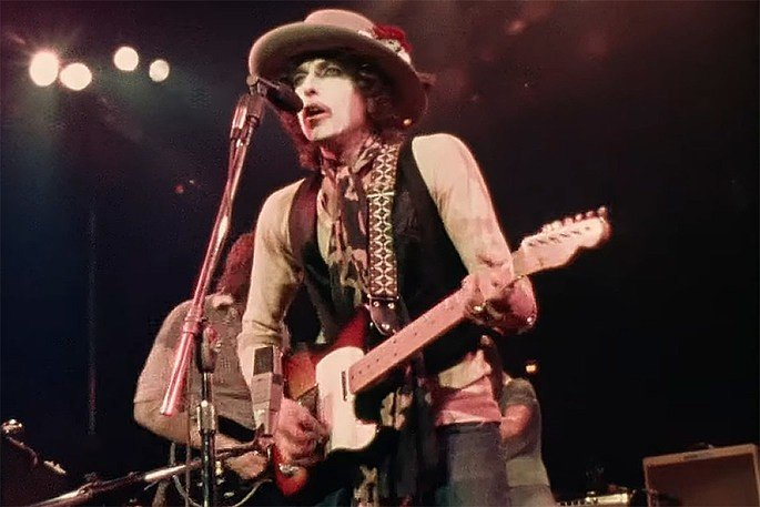 Fotograma del documental Rolling Thunder Revue: A Bob Dylan Story by Martin Scorsese