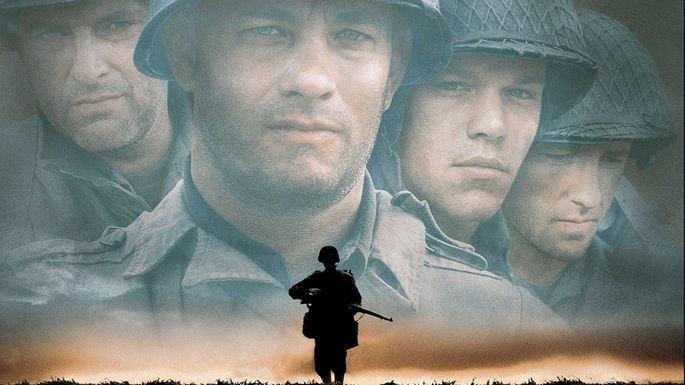 Fotograma de la pelicula Salvar al soldado Ryan