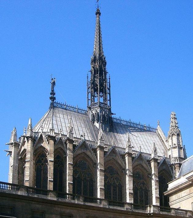 Iglesia de Saint-Chapelle, fachada.